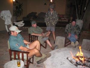 PH's evening campfire